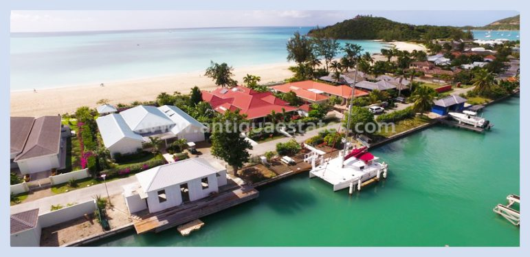 Luxury Beach Villa for Sale in Jolly Harbour Antigua